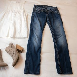 Silver Jeans Berkley Straight Low Rise - Size 25